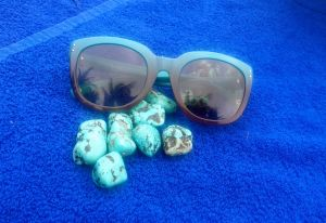shades and rocks